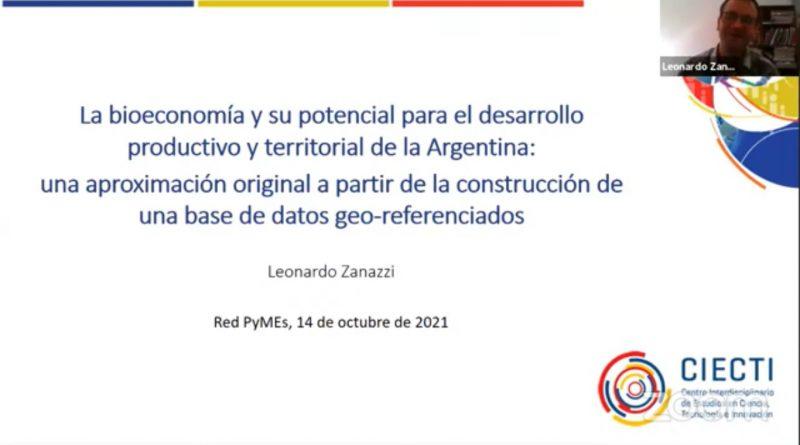 Bioeconomía y desarrollo regional